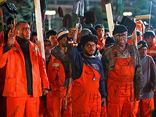 Таджики протестуют против Наша Russia - шоу и фильм разжигают национальную рознь