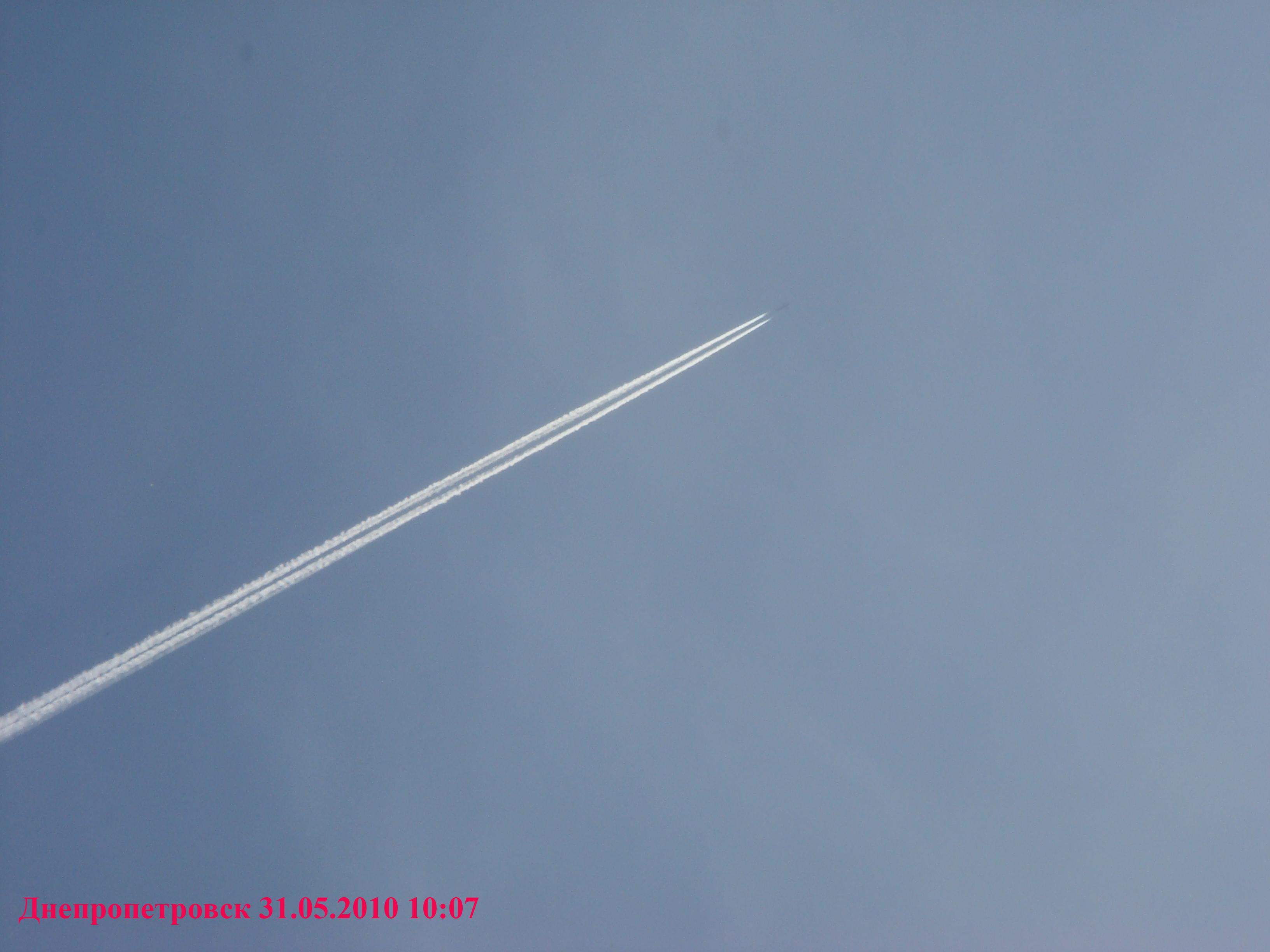 6 сентября 2010 года в Севастополе самолеты НАТО произвели крупномасштабное распыление химтрейлов