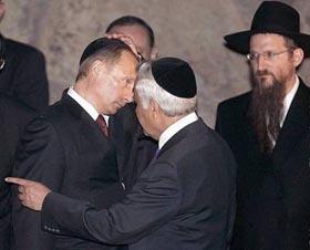 Берл Лазар фактически признал еврейское происхождение Путина и Медведева