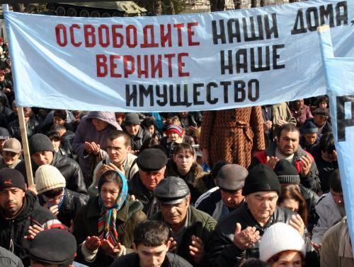 150 тысяч татар хотят в Крым