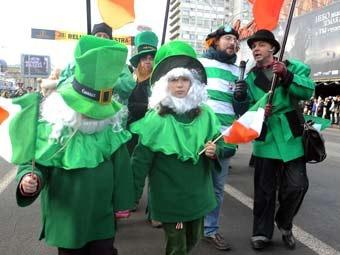 В Севастополе 17 марта запланировано проведение костюмированного парада святого Патрика.