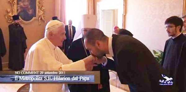 """Папский прислужник раскритиковал """"ревнителей"""""""