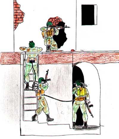 «подземного» патруля может