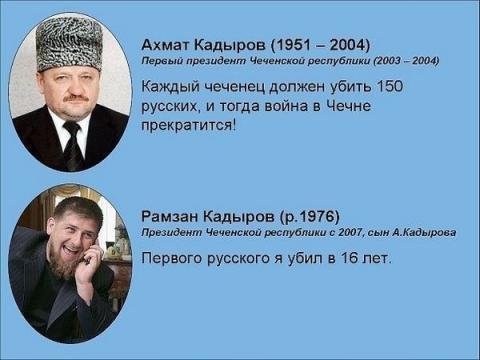 инстаграм детей кадырова