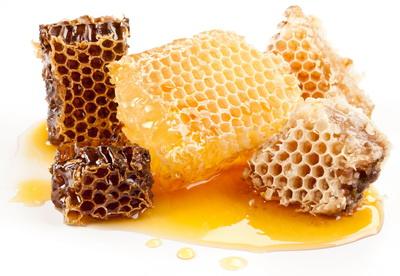 фото соты с медом