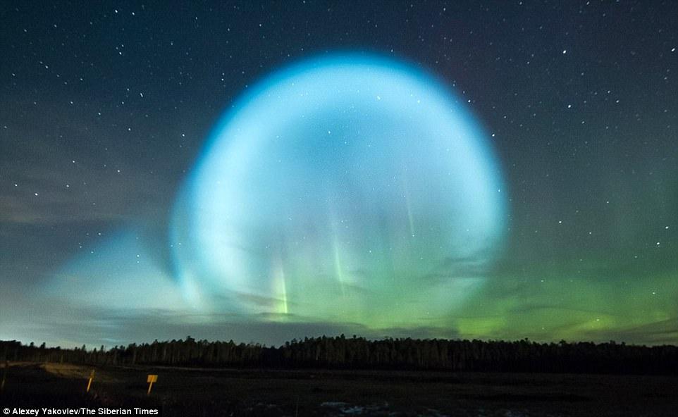 рулетики это необычные небесные явления фото участке