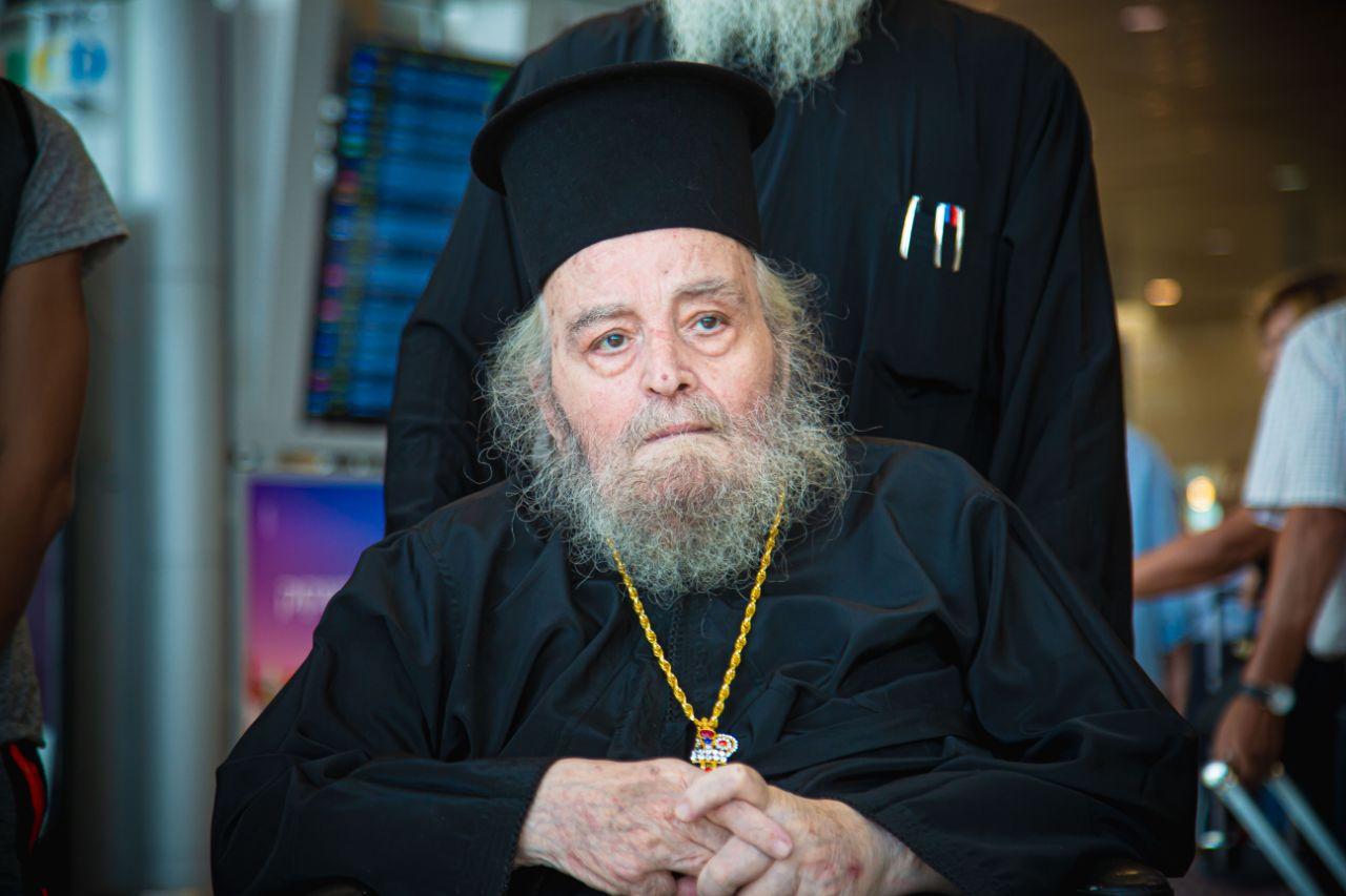 Уредништво:Бивши јерусалимски патријарх, нови исповедник, Иринеј пребачен у Атину ради лечења (фото)