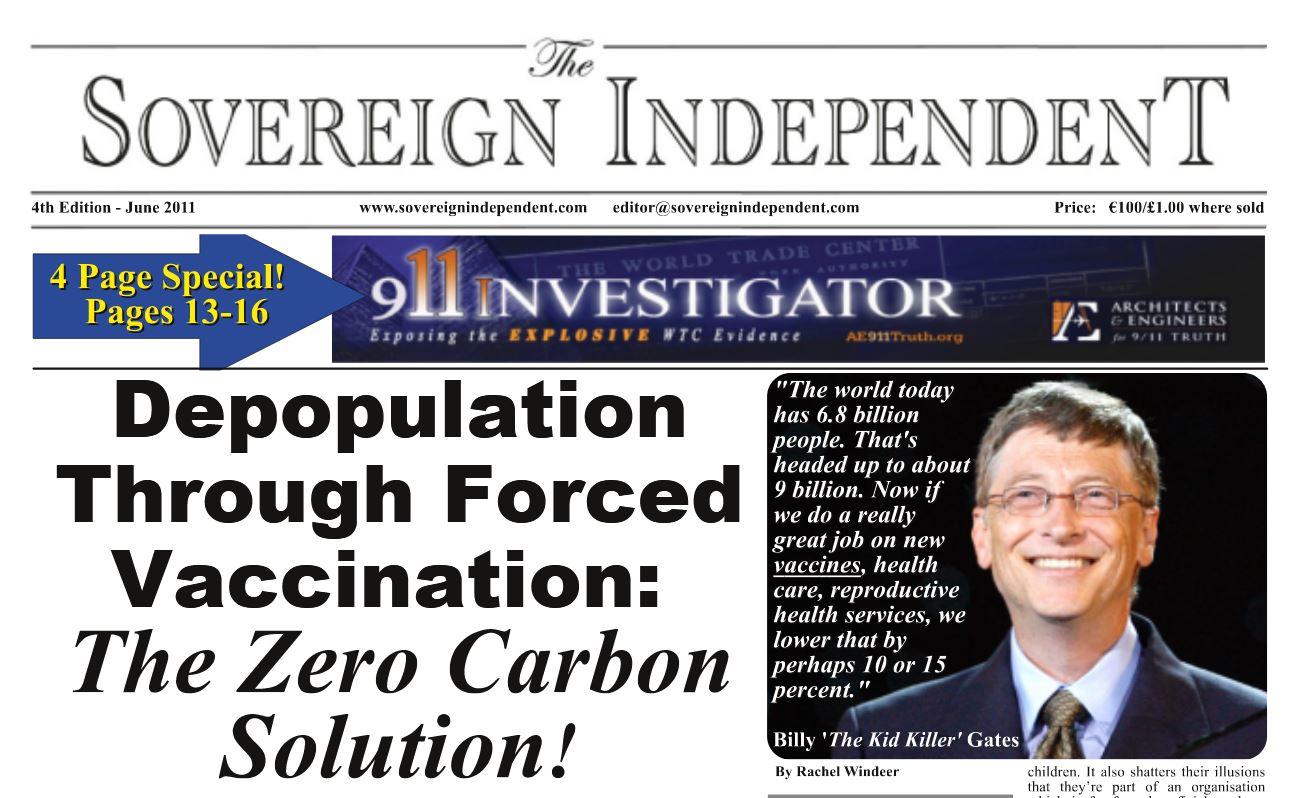 Сокращение населения с помощью вакцинации